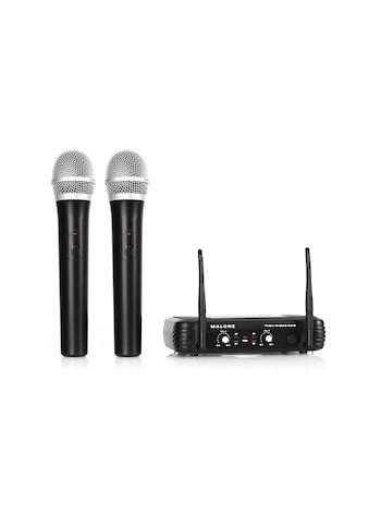 Malone UHF Funkmikrofon Set 2 Kanal »UHF 250 Duo1« kaufen