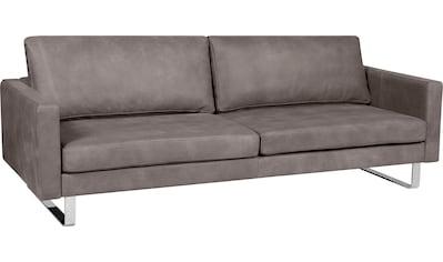 Alte Gerberei 3-Sitzer »Velina«, mit Metallkufen kaufen