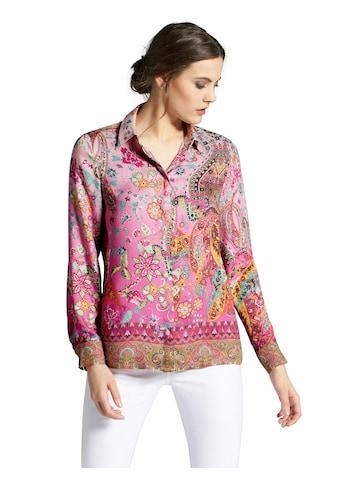 Peter Hahn Hemdbluse »mit Hemdkragen«, und Knopf kaufen