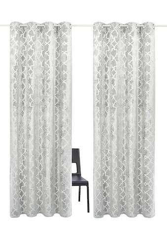 Vorhang, »Frozen Velvet«, Guido Maria Kretschmer Home&Living, Ösen 2 Stück kaufen