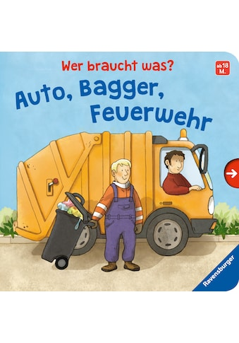 Buch »Wer braucht was? Auto, Bagger, Feuerwehr / Cornelia Frank, Catharina Westphal« kaufen