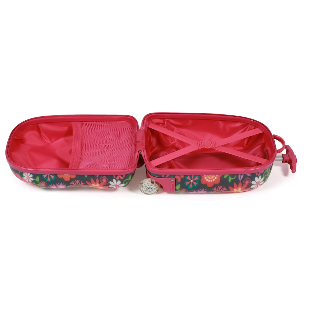 CHIC2000 Kinderkoffer »Bouncie Flowers«, 2 Rollen