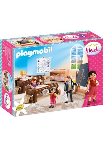 "Playmobil® Konstruktions - Spielset ""Schulunterricht im Dörfli (70256), Heidi"" kaufen"