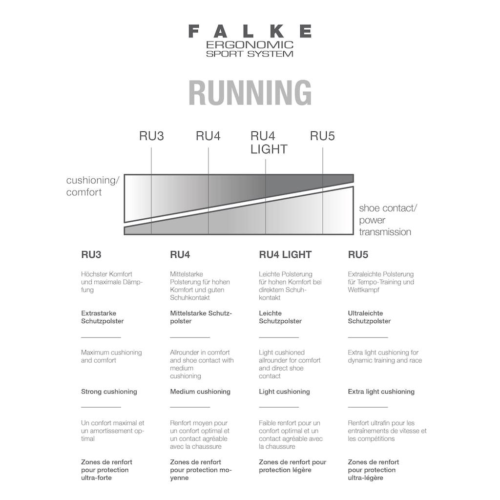 FALKE Laufsocken »RU4 Running«, (1 Paar), Allrounder für Kinder