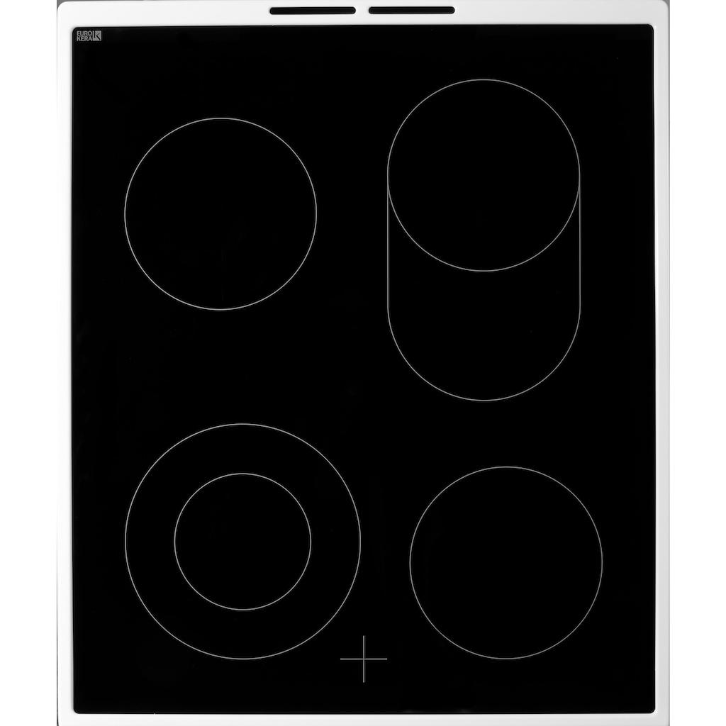 AEG Elektro-Standherd »47995VD-WN / COMPETENCE«, 47995VD-WN, mit 2-fach-Teleskopauszug, mit Bräterzone