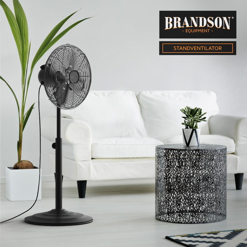 Brandson Standventilator »Standlüfter 75-100 cm Hoch   30cm Ø«, mit höhenverstellbarem Standfuß