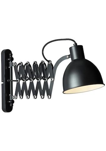 Brilliant Leuchten Sandra 2 Wandleuchte schwarz matt kaufen