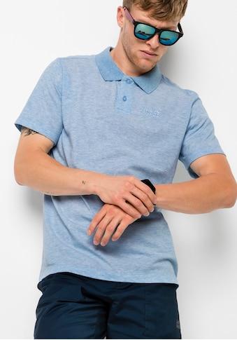 Jack Wolfskin Poloshirt »PIQUE POLO MEN« kaufen