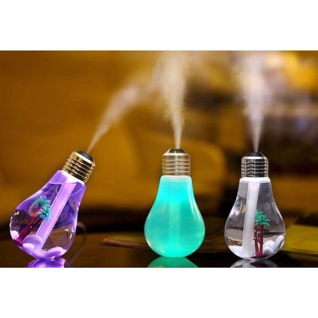 LA VAGUE Luftbefeuchter »HYGRO«, 0.4 l Wassertank, mit wechselndem Licht in 7 Farben und USB-Anschluss