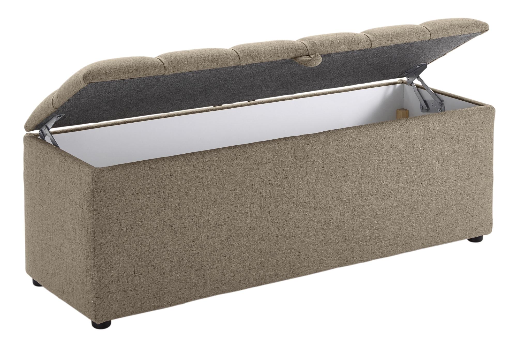heine home bank mit gro em stauraum bequem auf raten. Black Bedroom Furniture Sets. Home Design Ideas