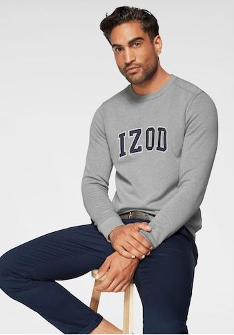 IZOD Sweatshirt, mit Logo-Applikation kaufen