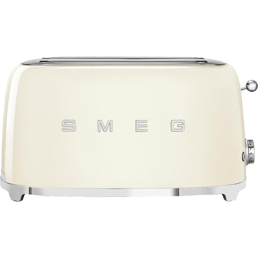 Smeg Toaster »TSF02CREU«, 2 lange Schlitze, für 2 Scheiben, 1500 W