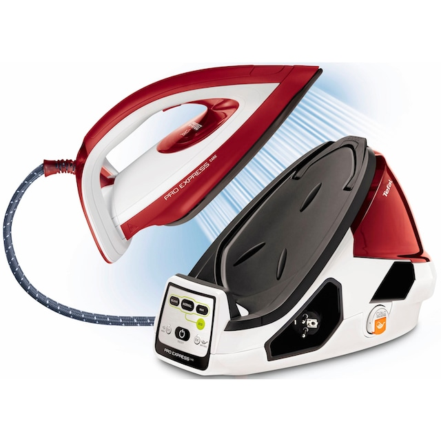 Tefal Dampfbügelstation GV9061 Pro Express Care, 1600 ml Wassertank, 2400 Watt