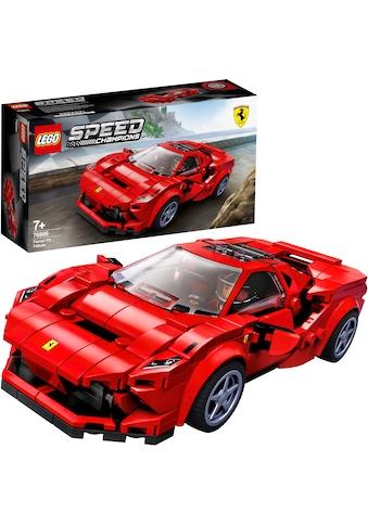 """LEGO® Konstruktionsspielsteine """"Ferrari F8 Tributo (76895), LEGO® Speed Champions"""", (275 - tlg.) kaufen"""