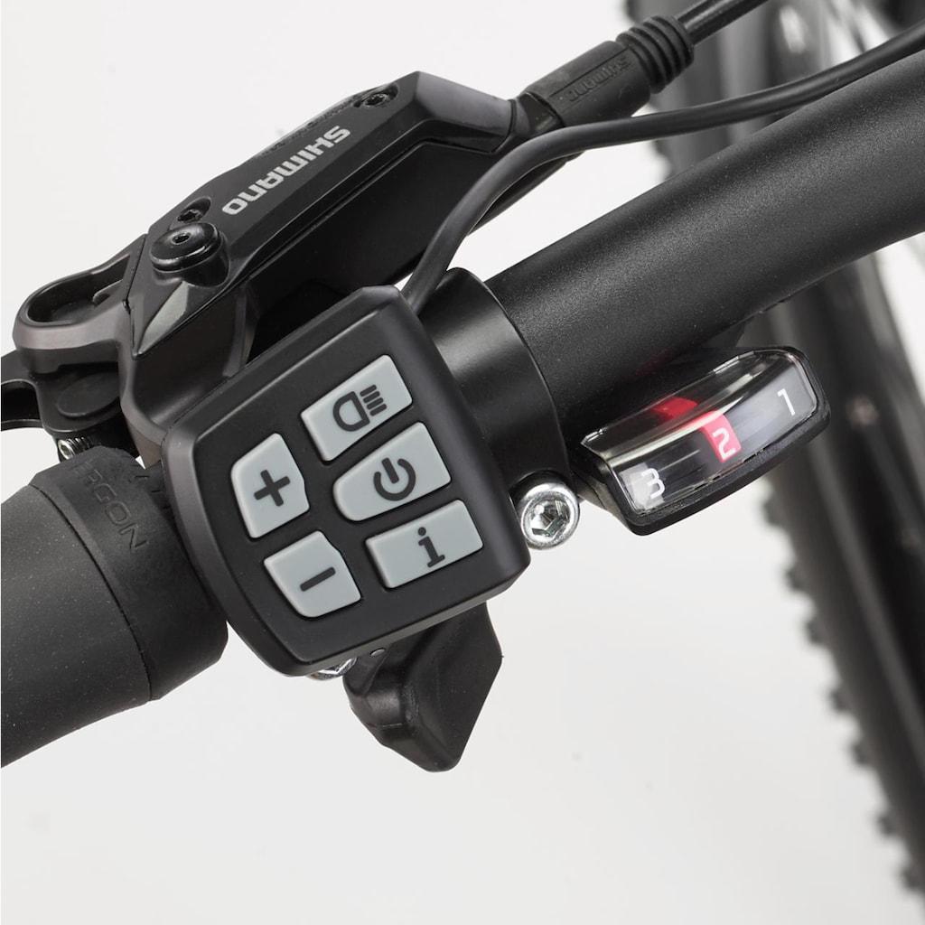 FISCHER Fahrräder E-Bike »EM 1724.1«, 24 Gang, Shimano, Deore, Heckmotor 250 W