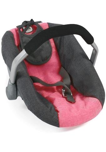 CHIC2000 Puppen Autositz »Anthrazit-Pink« kaufen