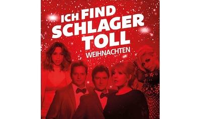 Musik - CD Ich Find Schlager Toll - Weihnachten / Diverse Volksmusik/Schlager, (2 CD) kaufen