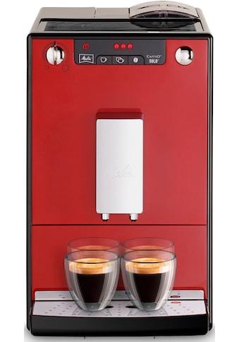 Melitta Kaffeevollautomat CAFFEO® Solo® E 950 - 104 Chili Red, 1,2l Tank, Kegelmahlwerk kaufen