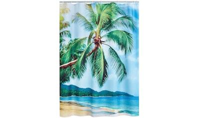 Ridder Duschvorhang »Palm Beach«, Breite 180 cm, (1 tlg.), Höhe 200 cm kaufen