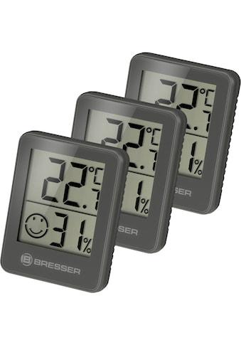 BRESSER Thermometer »Temeo Hygro 3er Set Thermometer Hygrometer« kaufen