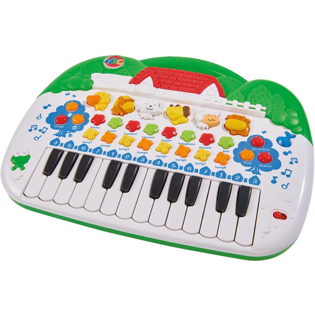 SIMBA Spielzeug-Musikinstrument »ABC Tierkeyboard«