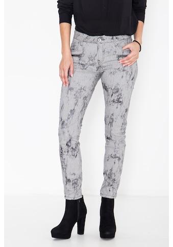 ATT Jeans 5-Pocket-Jeans »Leoni«, mit Streifen im Used-Look kaufen