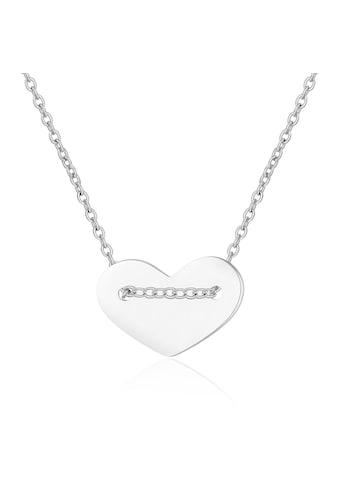 AILORIA Kette mit Anhänger »LINA Halskette mit Herz-Charm«, aus 925 Sterling Silver kaufen
