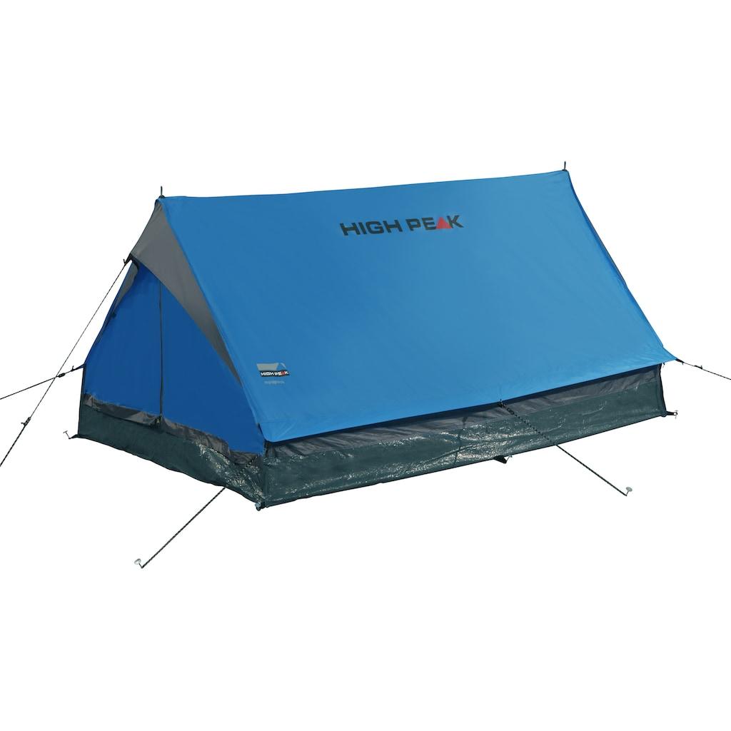 High Peak Hauszelt »Minipack«, 2 Personen, (Set, mit Transporttasche)