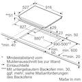 BOSCH Flex-Induktions-Kochfeld von SCHOTT CERAN®, PXV975DV1E, mit DirectSelect Premium