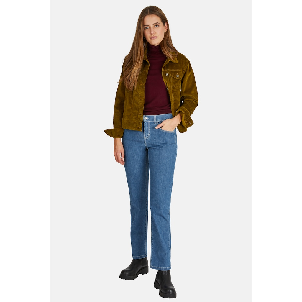 ANGELS Straight-Jeans,Dolly' mit feiner Waschung