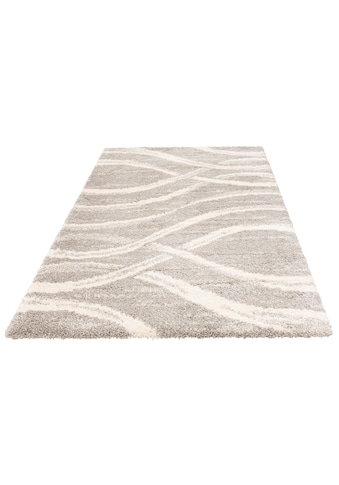 Hochflor - Teppich, »Sandu«, my home, rechteckig, Höhe 40 mm, maschinell gewebt kaufen