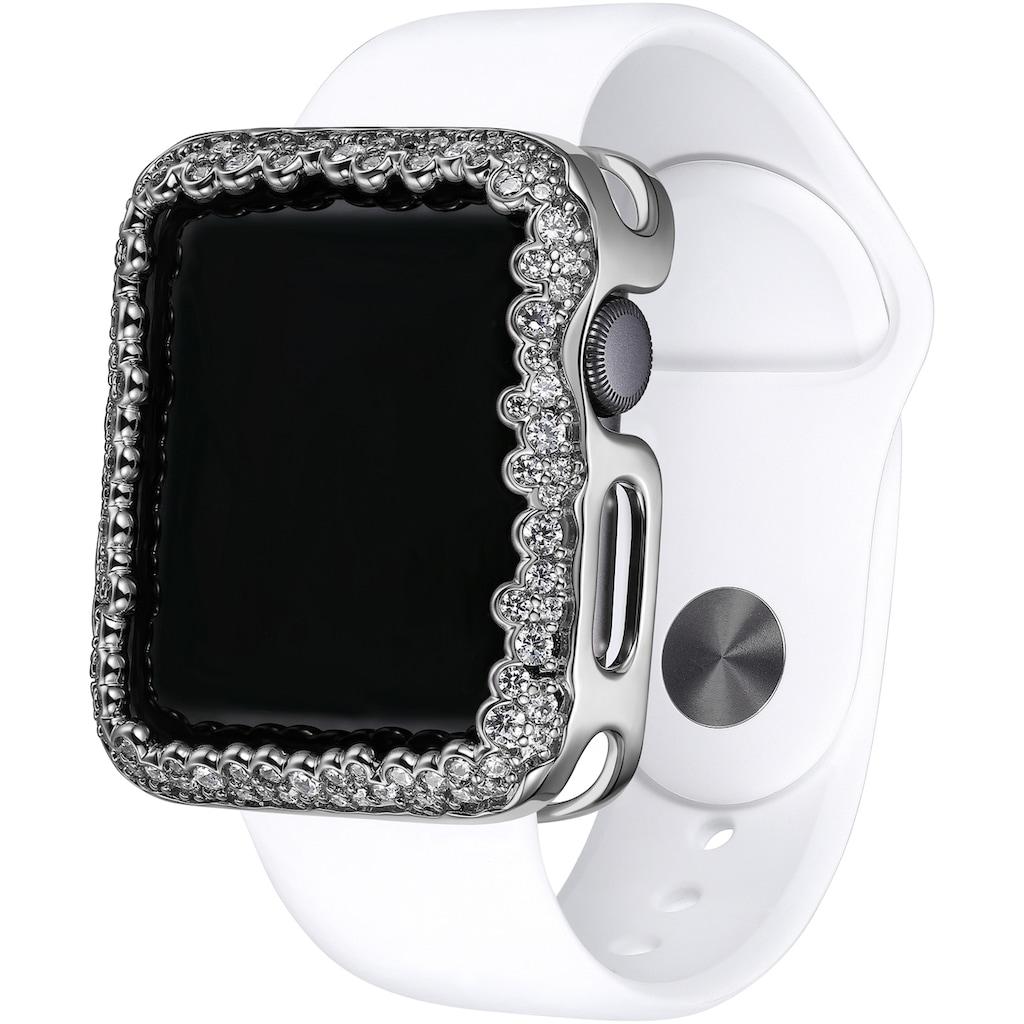 SKY•B Smartwatch-Hülle »CHAMPAGNE BUBBLES, W004S38, 38 mm«, Watch