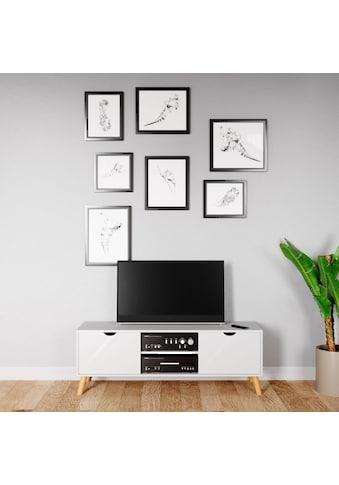 andas Sideboard »Scandi«, Fernsehtisch mit Soft-Close-Funktion kaufen