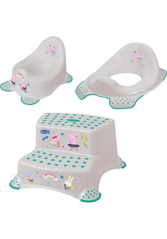 keeeper Töpfchen »Peppa Pig«, (Set, 3 tlg.), Kinderpflege-Set - Töpfchen,... kaufen