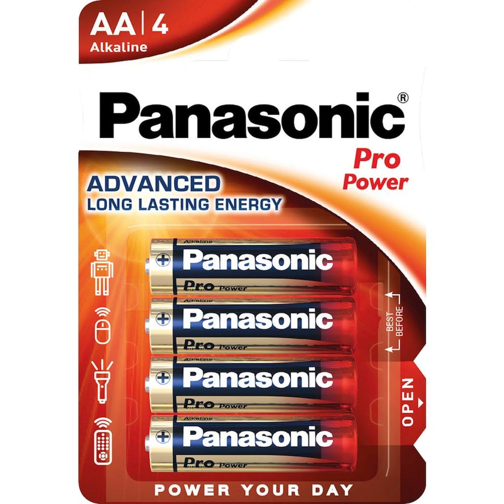 Panasonic Batterie »Batterie Alkaline, Mignon, AA, LR06, 1.5V, Pro Power, Retail Blister (48-Pack)«