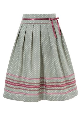 Marjo Trachtenrock mit breitem Bund kaufen