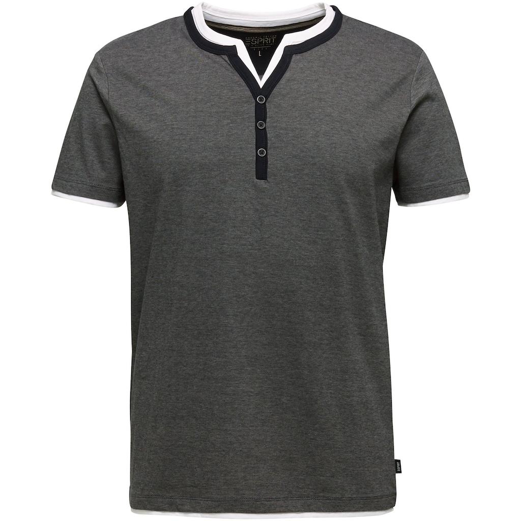 Esprit T-Shirt, in Lagenoptik