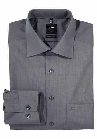 OLYMP Businesshemd »Luxor modern fit«, extra lange Ärmel, bügelfrei, mit Brusttasche, unifarben kaufen