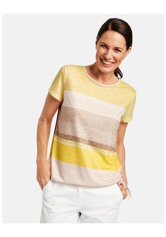 GERRY WEBER T - Shirt 1/2 Arm »Shirt mit Saumraffung« kaufen