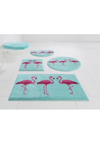 Badematte »Flamingos«, GRUND exklusiv, Höhe 20 mm, rutschhemmend beschichtet kaufen