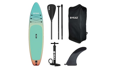 YEAZ Inflatable SUP-Board »LAGUNA BEACH - EXOTREK -«, (5 tlg.), inkl. Alu-Paddel,... kaufen
