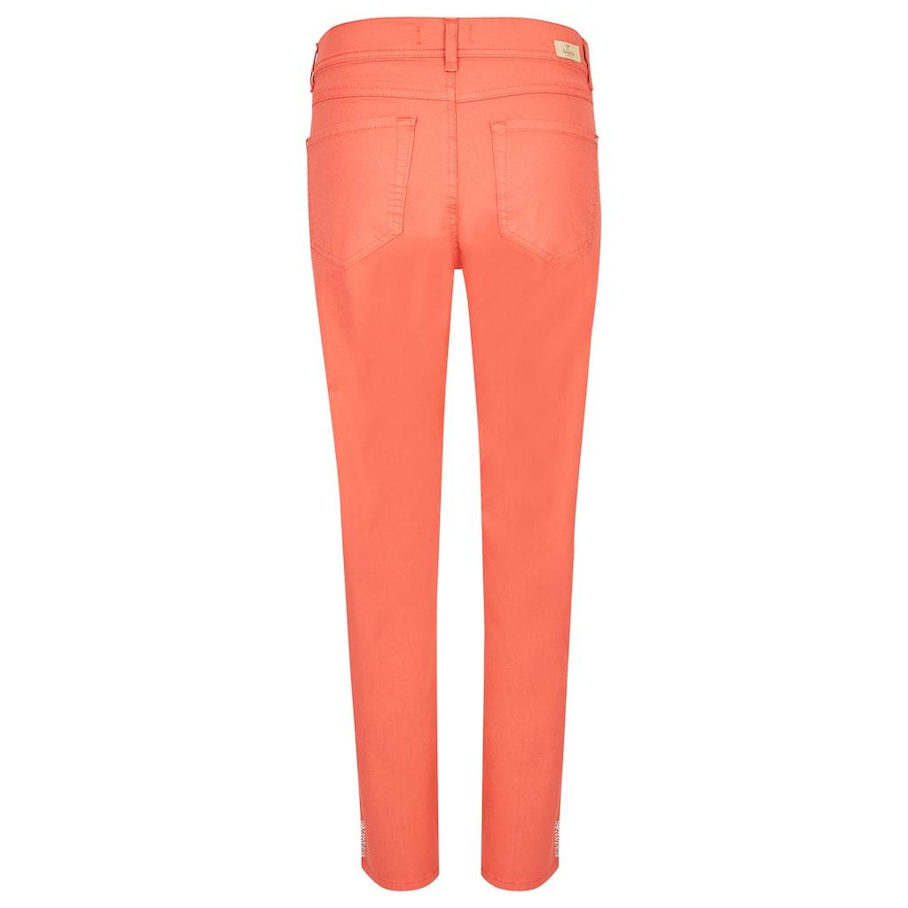 ANGELS Ankle-Jeans, 'Ornella Decor' aus Coloured Denim