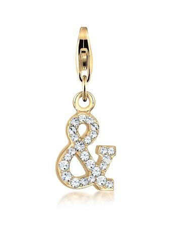 Nenalina Charm-Einhänger »Zeichen Symbol Kristalle 925 Silber« kaufen