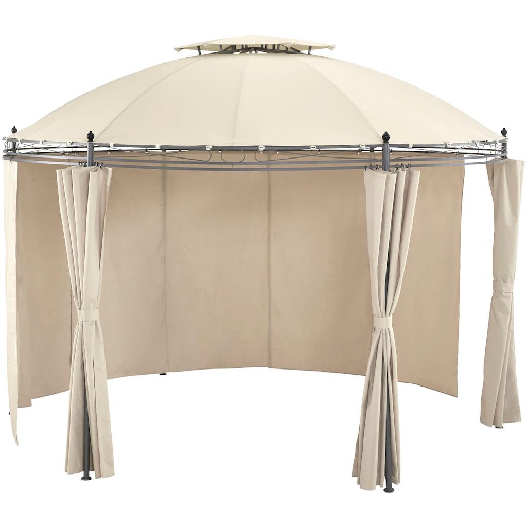 KONIFERA Pavillon »Tino«, BxT: 350 x 350 cm
