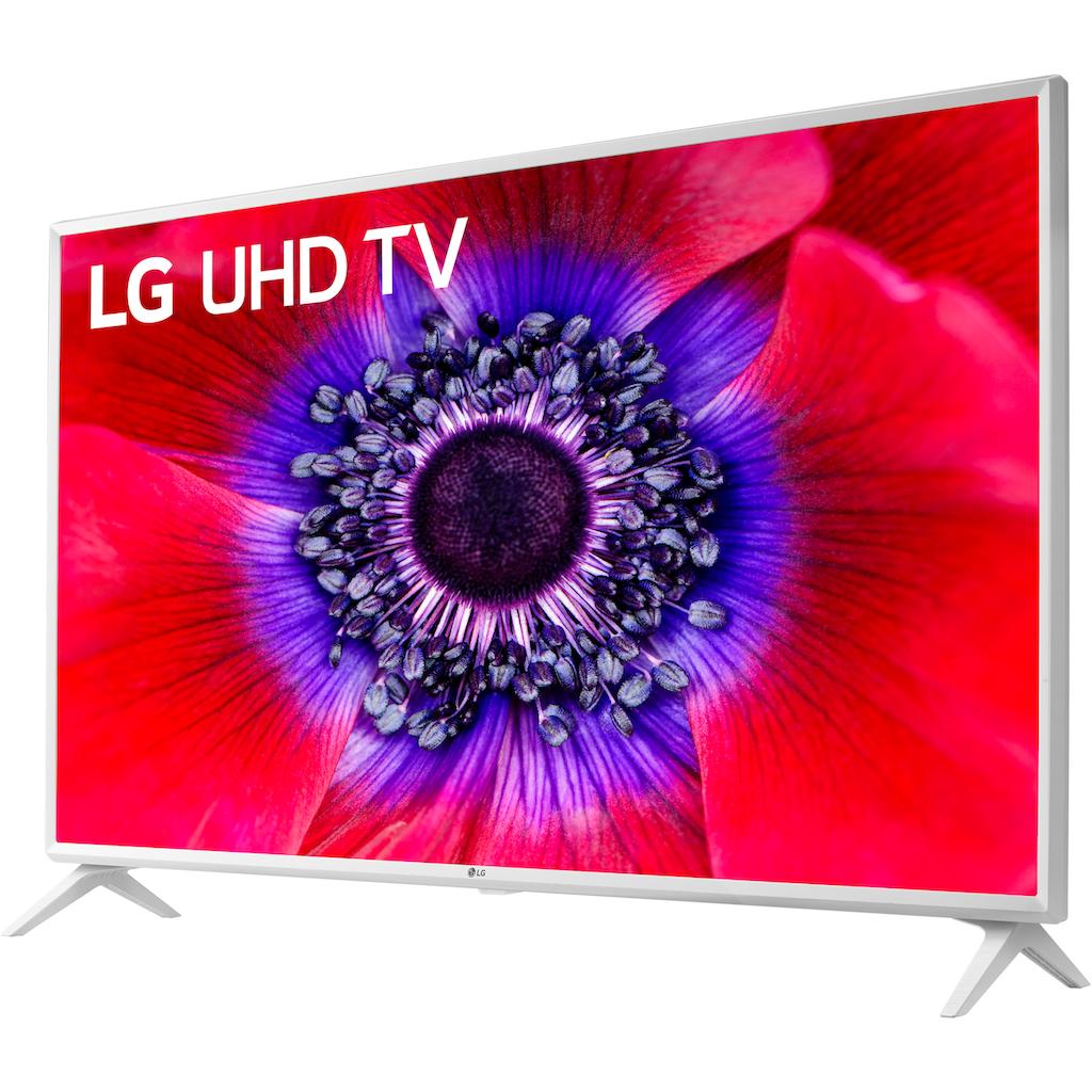 "LG LED-Fernseher »43UN73906LE«, 108 cm/43 "", 4K Ultra HD, Smart-TV, Gehäusefarbe weiß"