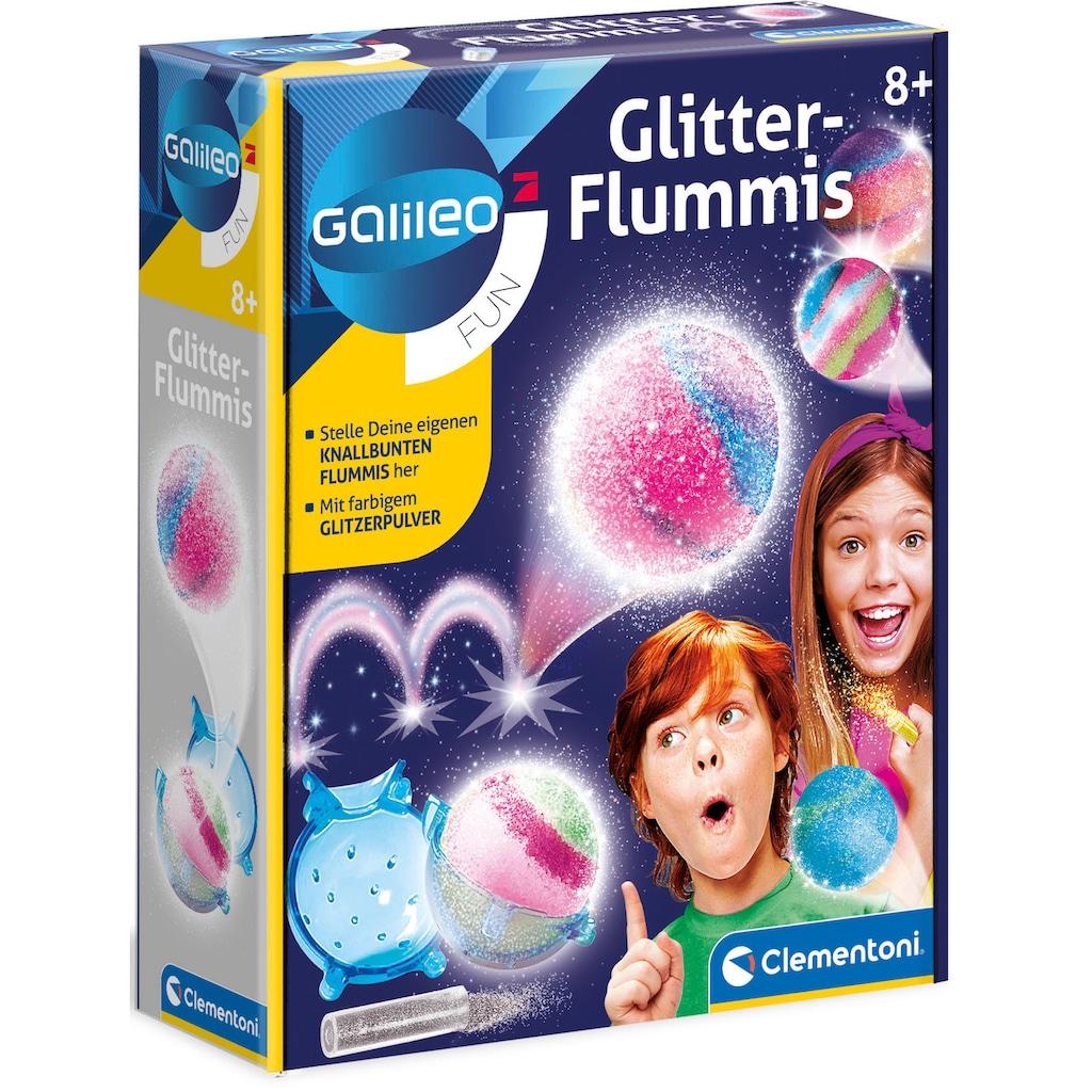 Clementoni® Kreativset »Galileo Glitter-Flummis«
