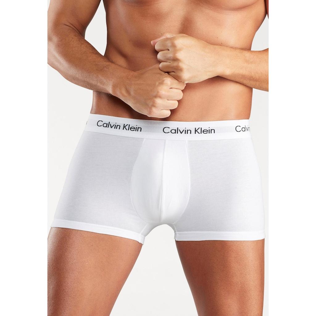 Calvin Klein Hipster, (3 St.), mit weißem Webbund