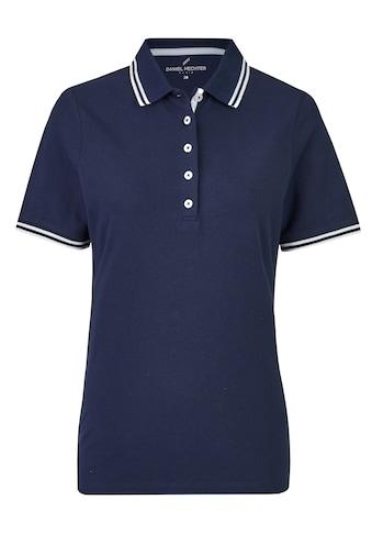 Daniel Hechter Klassisches Poloshirt im schlichten Design kaufen