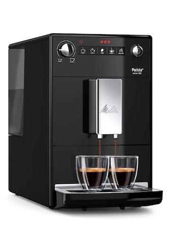Melitta Kaffeevollautomat Purista F23/0 - 102 schwarz, 1,2l Tank, Kegelmahlwerk kaufen
