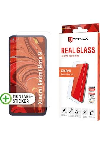 Displex Displayschutzglas »DISPLEX Real Glass Panzerglas für Xiaomi Redmi Note 9... kaufen